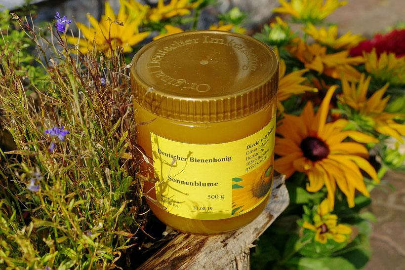 Blumen-Rose | Original Deutscher Imkerhonig - Sonnenblume