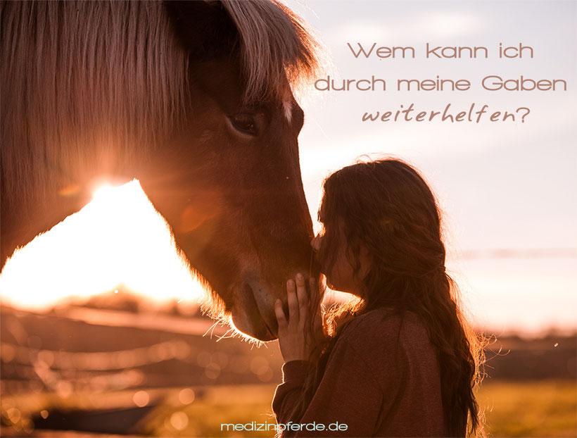 Bestimmung, Ziele, Gaben, pferdegestützes Coaching