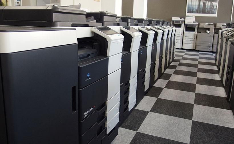 Gebrauchte Kopierer und Multifunktionsgeräte der JTB Bürotechnik in Taunusstein