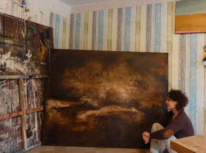 Serie: Lebenstraum 7 ist fertig geworden - 180 x 200 cm
