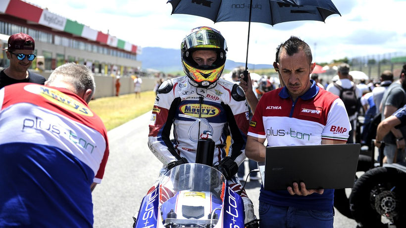 , Civ Moto3:  Zannoni (Team MF84) sul podio al Mugello in Gara 2