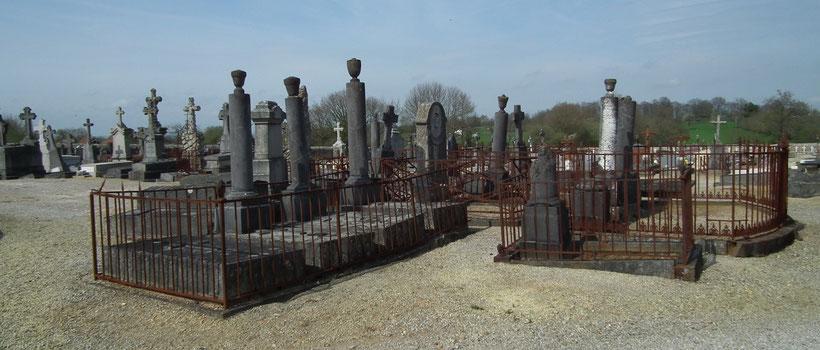 Ciemtière ancien de Domfront, Normandie, Orne