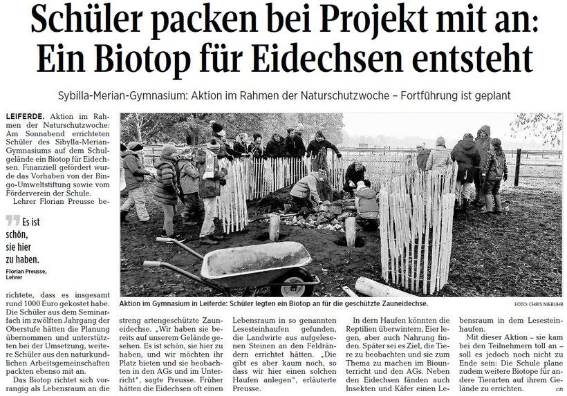 Aller-Zeitung 14.11.2016