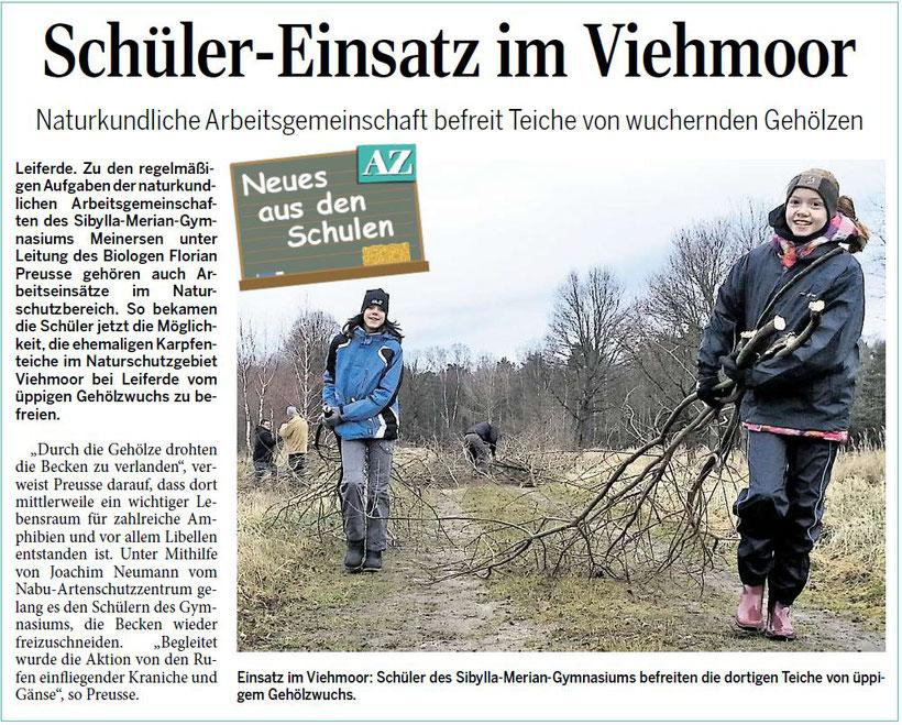 Aller Zeitung 15.02.2014