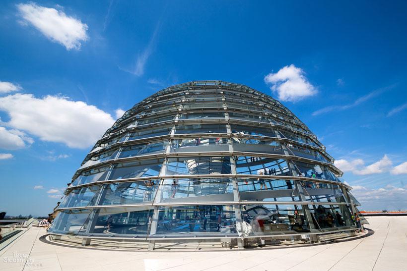 Kuppel des Reichstagsgebäudes  Bild Theo Stadtmüller