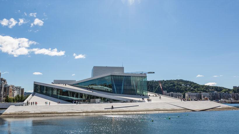 Opernhaus von Oslo  Bild Theo Stadtmüller
