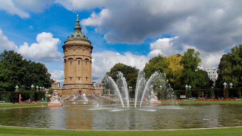 Wasserturm Mannhei Bild: Theo Stadtmüller