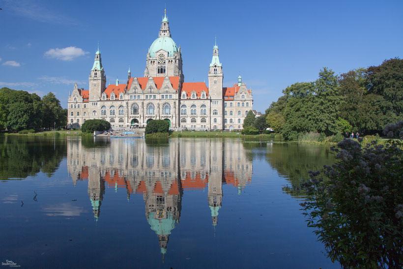 Neues Rathaus - Hannover  Bild: Theo Stadtmüller