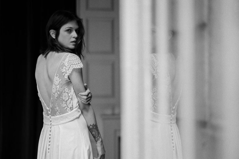 Stéphanie Wolff Paris – Collection 2017 - Modèle : Millie - Crédit photo : L'Artisan photographe