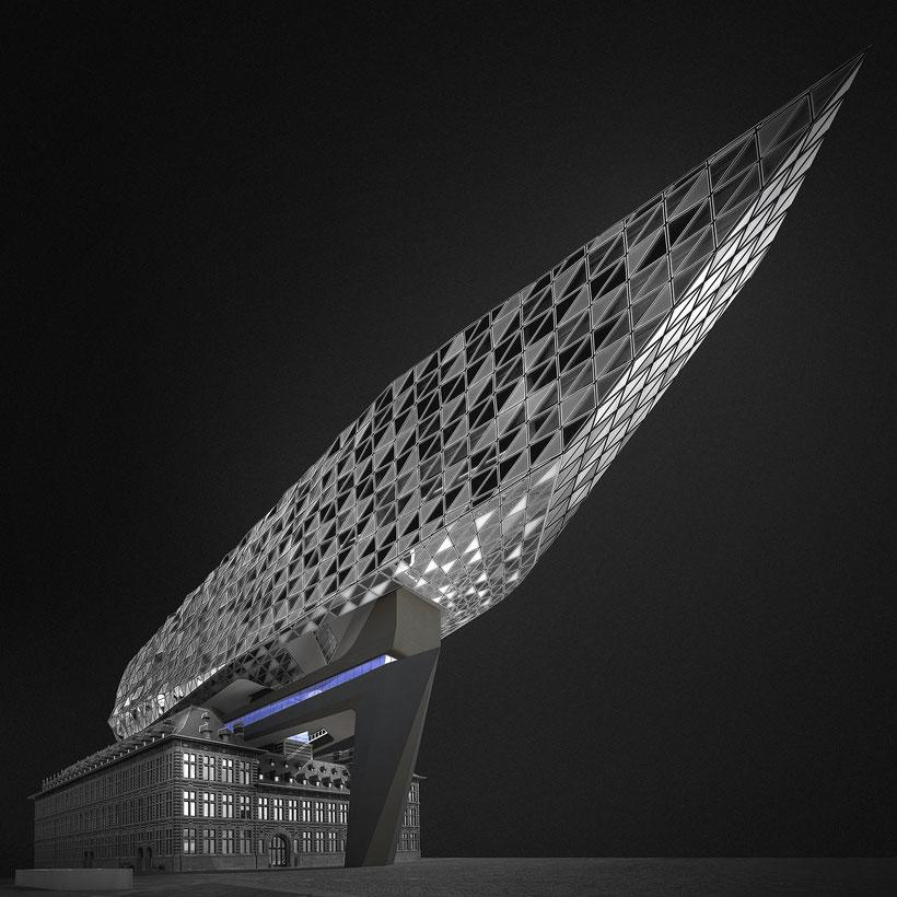 Antwerpen - Sting #01 - Architect: Zaha Hadid