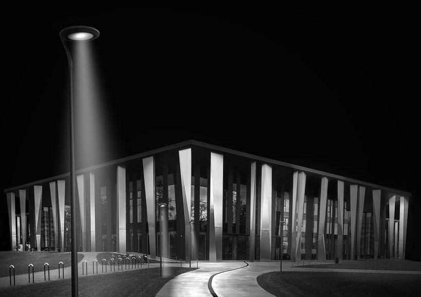 Straßburg - Palais de la Musique et Congrès |  (Collaboration with Mr. Steve Silby)