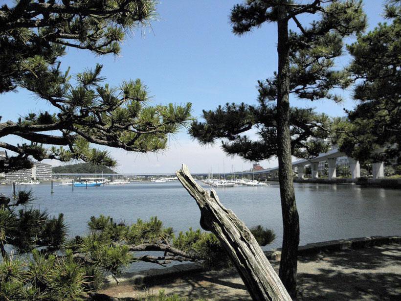 金沢八景 平潟湾 弁天島からの眺め