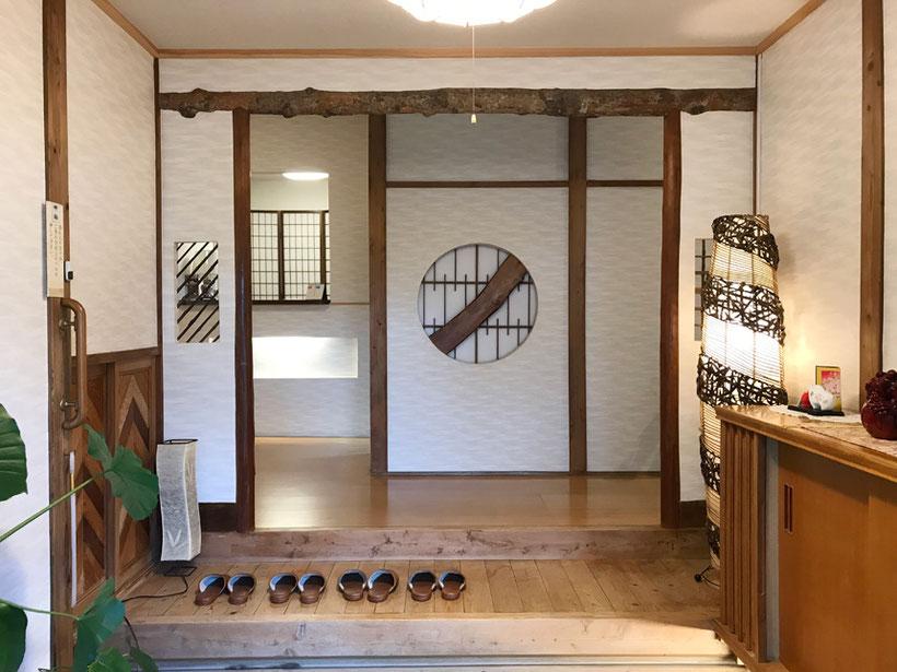 金沢八景 旅館 追浜園 玄関