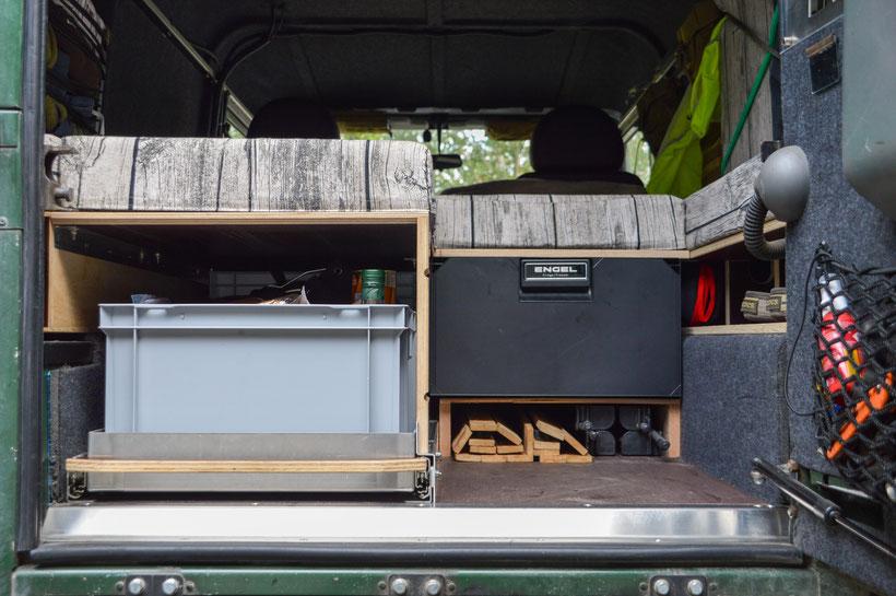 Land Rover Defender Innenausbau