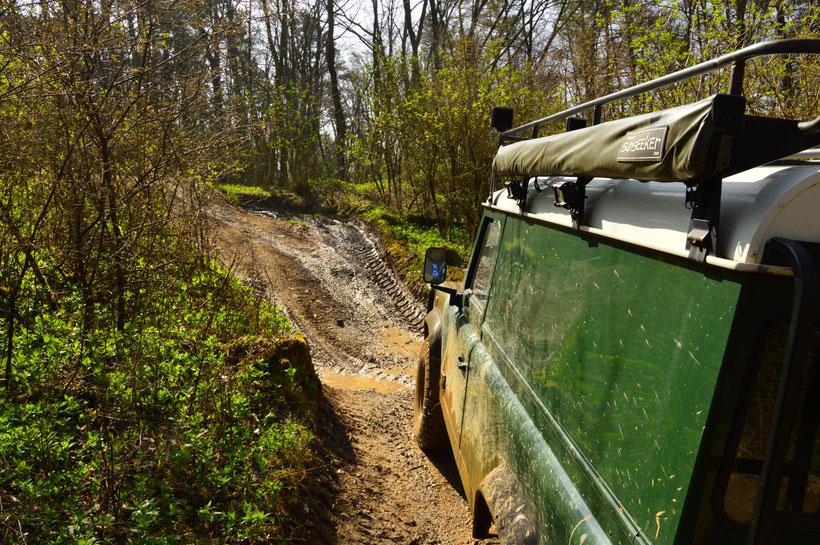 Mammutpark Offroad Land Rover Defender