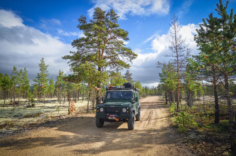 Norwegen Offroad Reise Reisebericht Land Rover Defender Overland