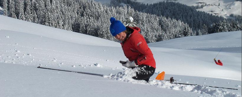 Lawinenkurs auf der CAS-Hütte Spertental Richtiges Verhalten auf Skitouren