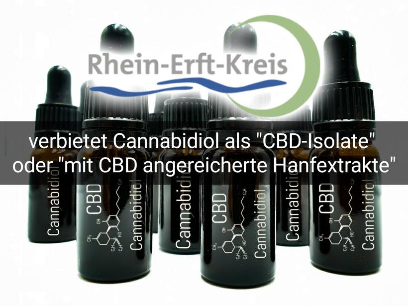 CBD Verbot Rhein Erft Kreis