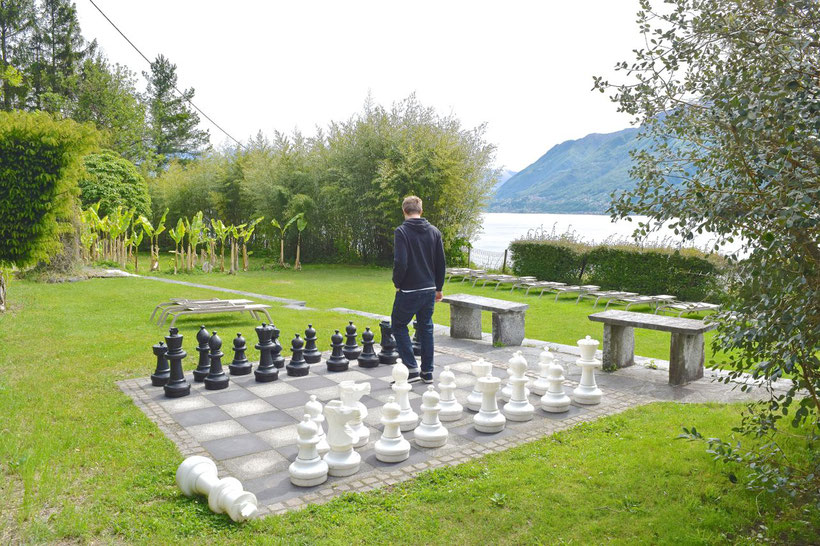 Park Hotel Brenscino in Brissago - Chess