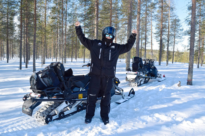 What to Do in Rovaniemi, Finland in Winter - Snowmobile Tour
