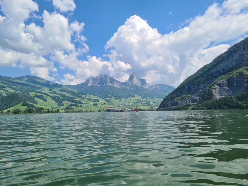 Top SUP Places in Switzerland - Lake Lauerz