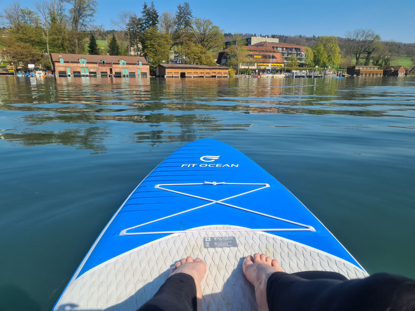 Top SUP Places in Switzerland - Lake Hallwil