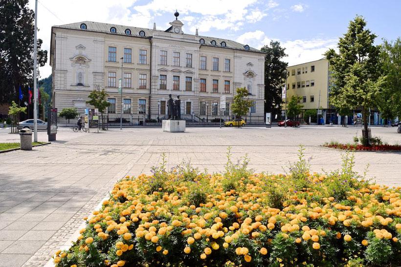 17 Must See Places in Kranj - Slovenski trg and Gimnazija Kranj
