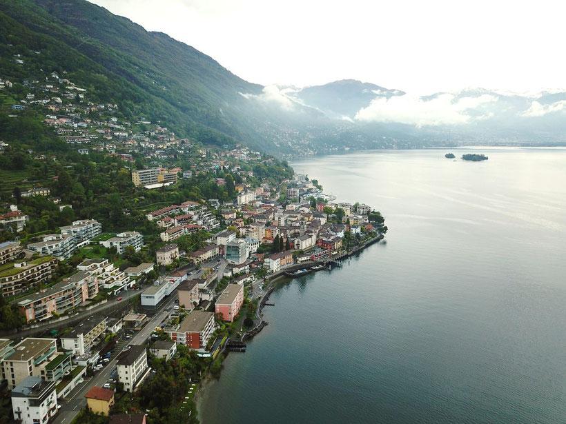 Park Hotel Brenscino in Brissago - The Coastline of Lago Maggiore