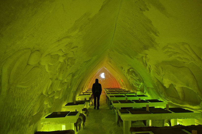 Arctic Snow Hotel & Glass Igloos in Rovaniemi, Finland