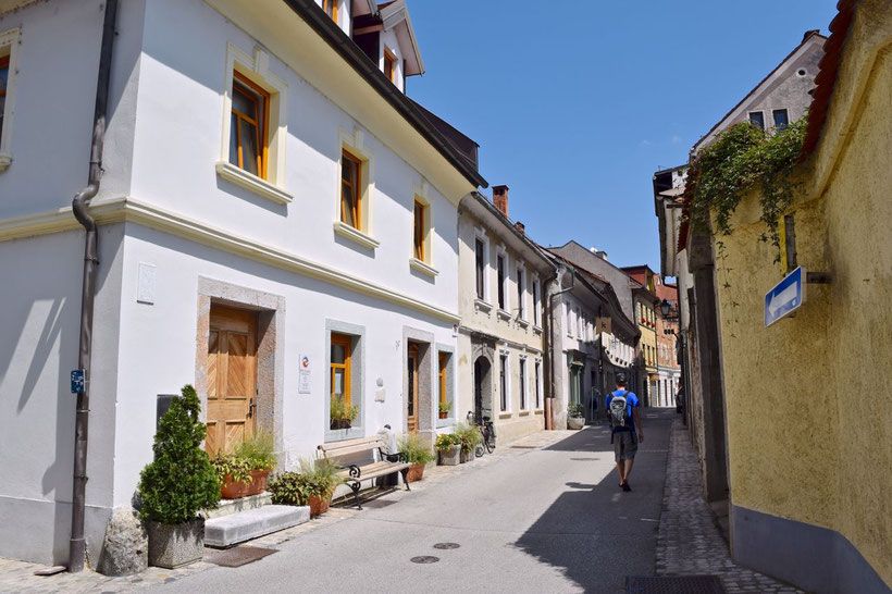 17 Must See Places in Kranj - Narrow streets & lovely houses