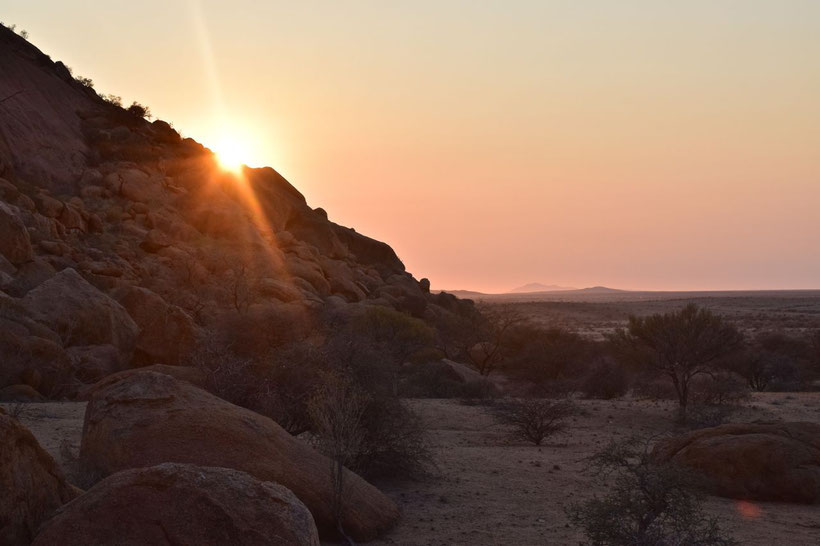Where to Stay in Namibia? Spitzkoppe Community Camp