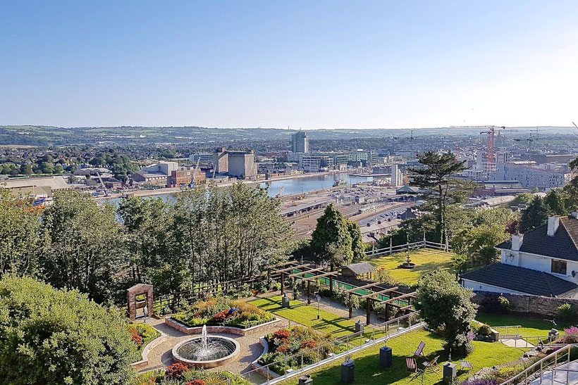 What to See around Cork, Ireland - Cork - View from the Montenotte Hotel
