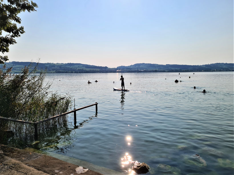 Top SUP Places in Switzerland - Sempach Lake
