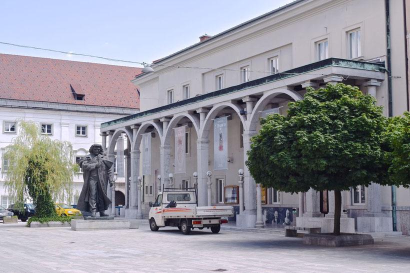17 sehenswerte Orte in Kranj - Preseren Theater