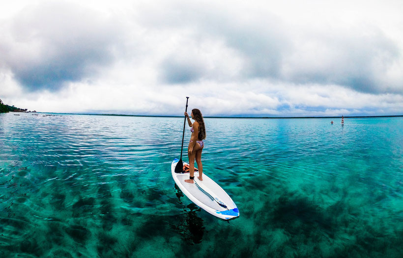 Which Watersports to Try in Gozo - Woman Paddle Boarding