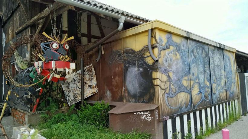 17 sehenswerte Orte in Kranj - Bahnhof Squat