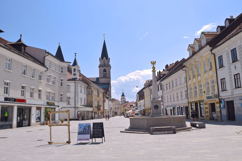 17 Must See Places in Kranj - Glavni trg