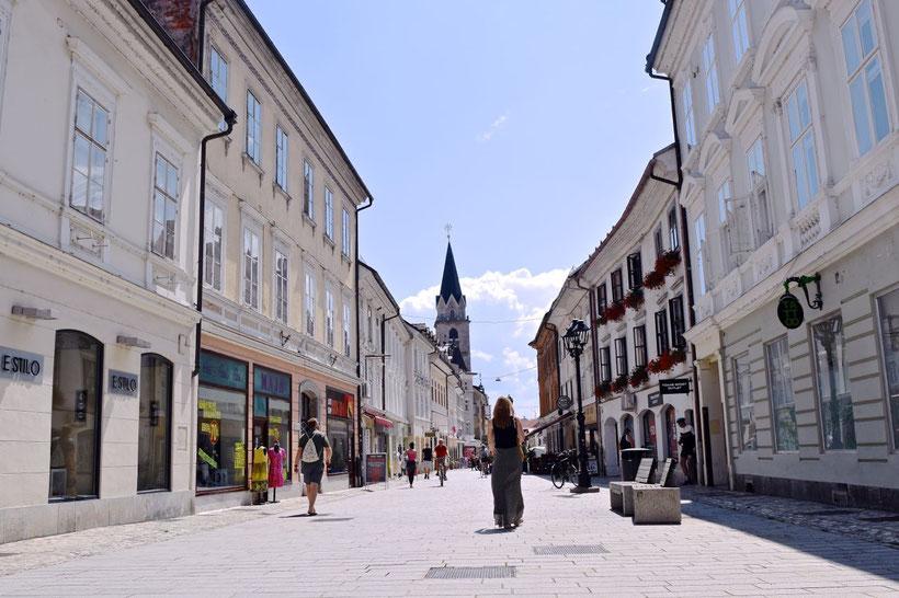 17 sehenswerte Orte in Kranj - Preseren Strasse