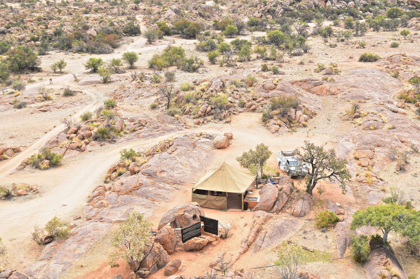 Where to Stay in Namibia? Namibgrens Camp
