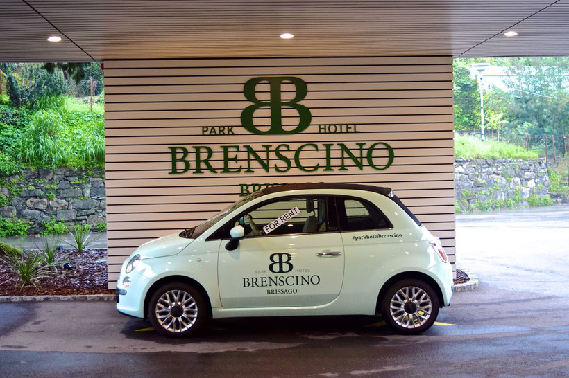 Park Hotel Brenscino in Brissago - rental car