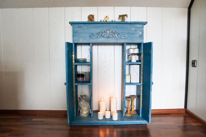 Kaminkonsole, Kerzen, Kerzenkamin, Winter-DIY, DIY-Konsole, Möbel selber bauen, DIY-Möbel, Kuschelecke, Kerzenecke, Cozy, Hygge, Kuschelzeit, Gemütlichkeit