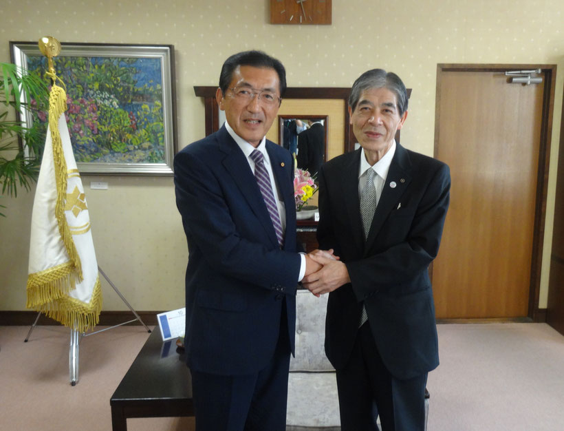 2015年10月20日 菅谷市長と面談