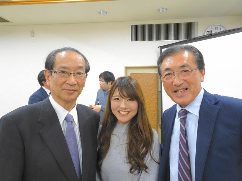 北川先生と記念写真
