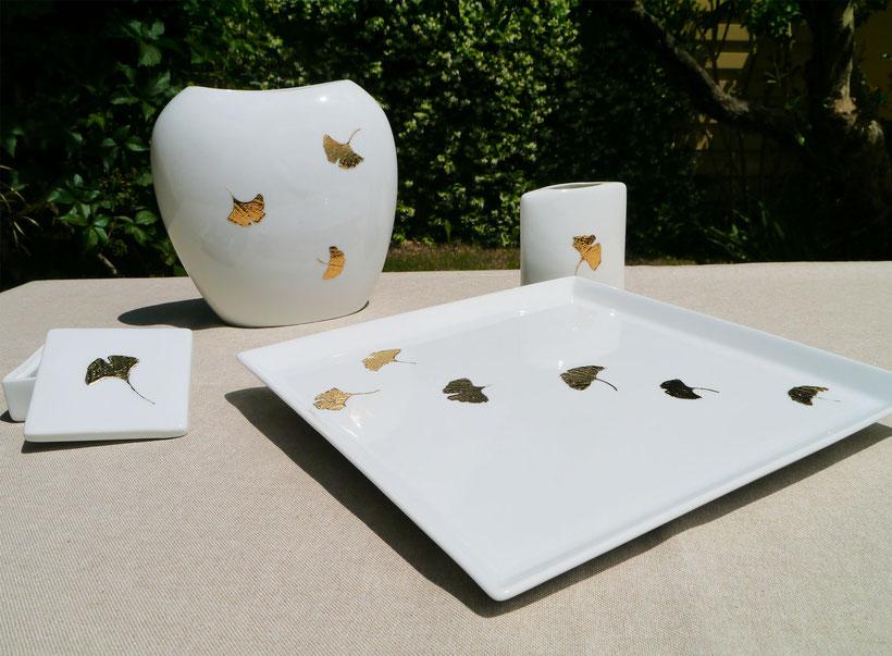 Nara Porcelaine Collection Ginkgo biloba