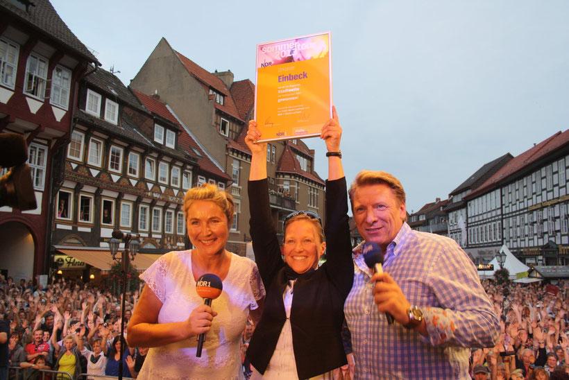 Kerstin Werner, Dr. Sabine Michalek, Ludger Abeln