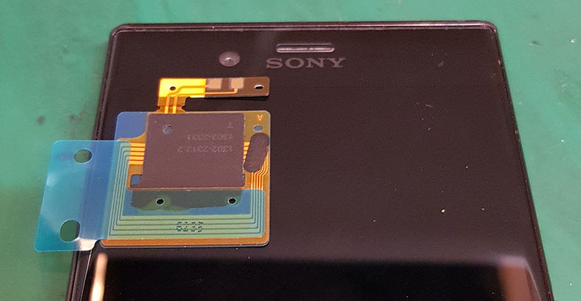 XPERIA XZ スイカやおサイフケータイの非接触NFC交換