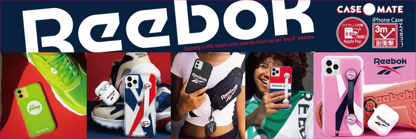 REEBOK collaboration iPhone CASE