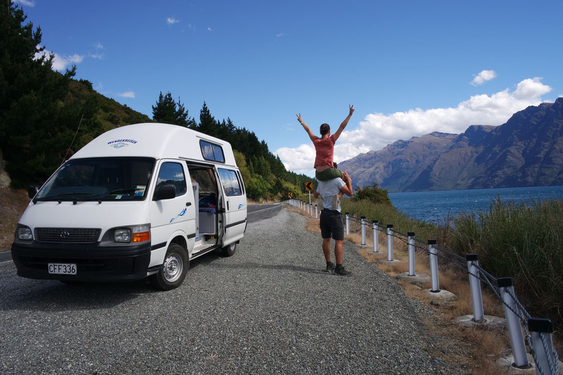 Freedom by discovering New Zealand with a campervan
