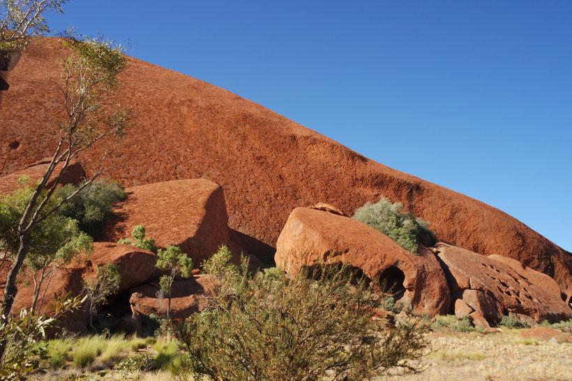 Red stone of Uluru