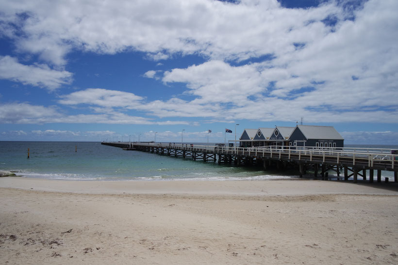 Busselton jetty on Australian westcoast